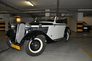 BMW 319 sport convertible 1934