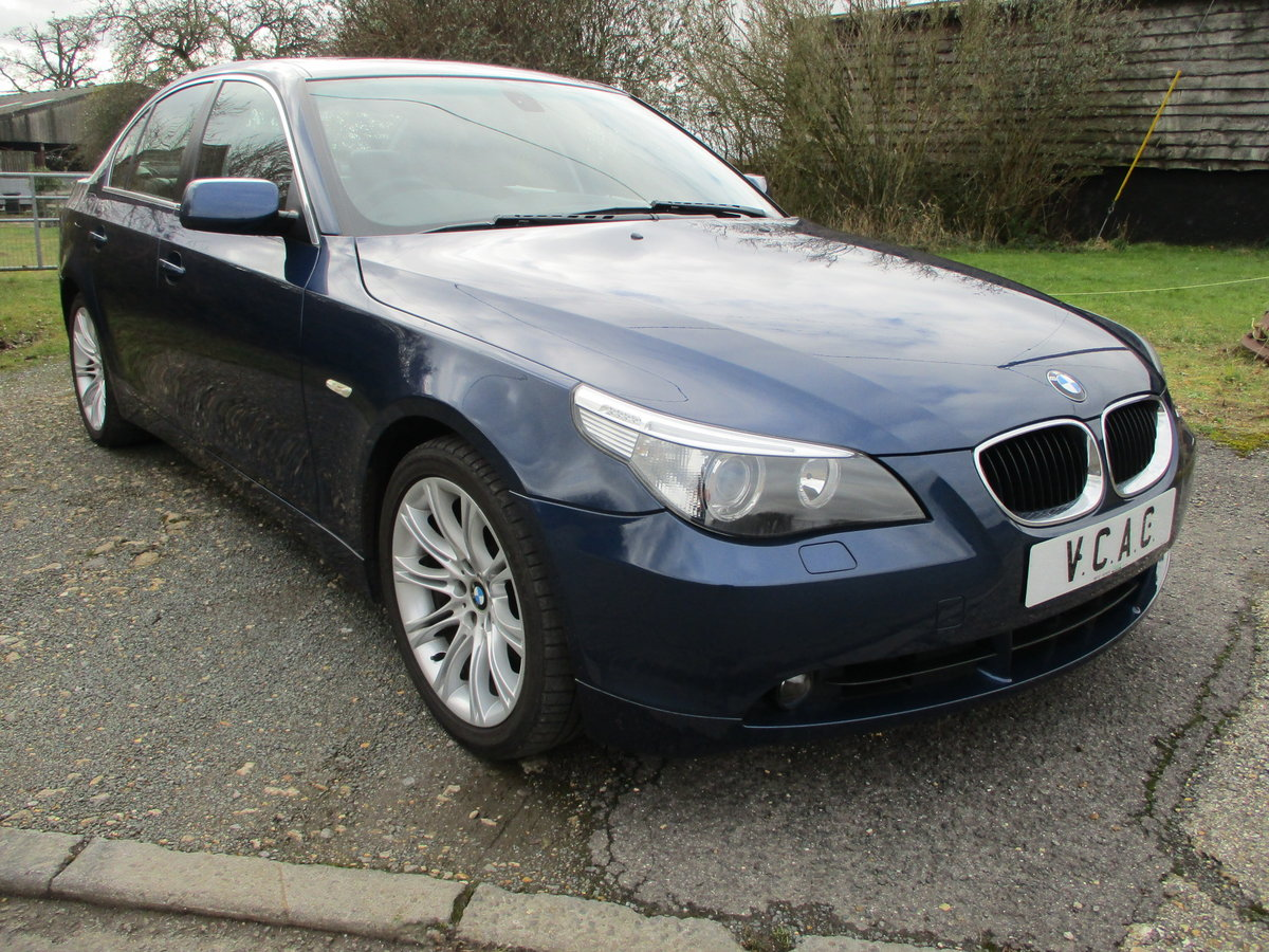 2004 BMW 530i Saloon Automatic SOLD (picture 1 of 6)