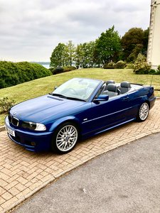 2001 BMW 330Ci M Sport Convertible Manual