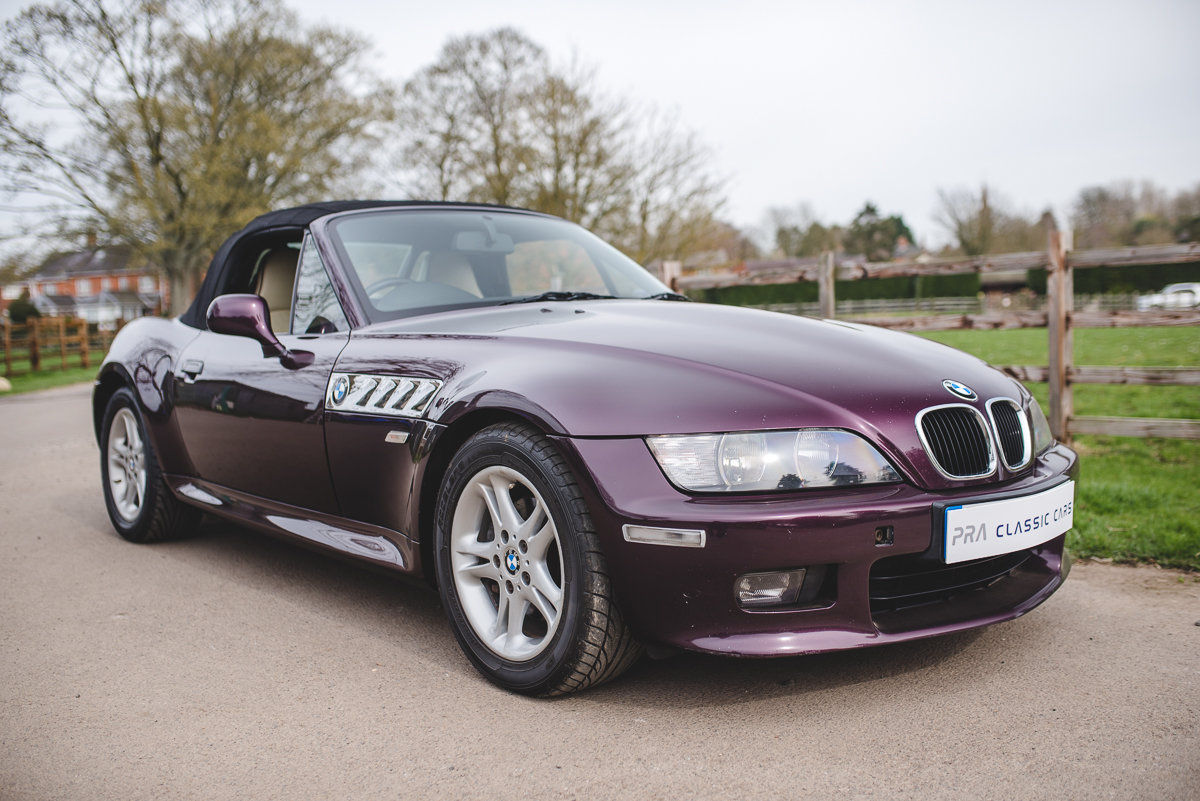2000 BMW Z3 2.0 6 CYLINDER 5 SPEED HARD TOP SOLD (picture 2 of 6)