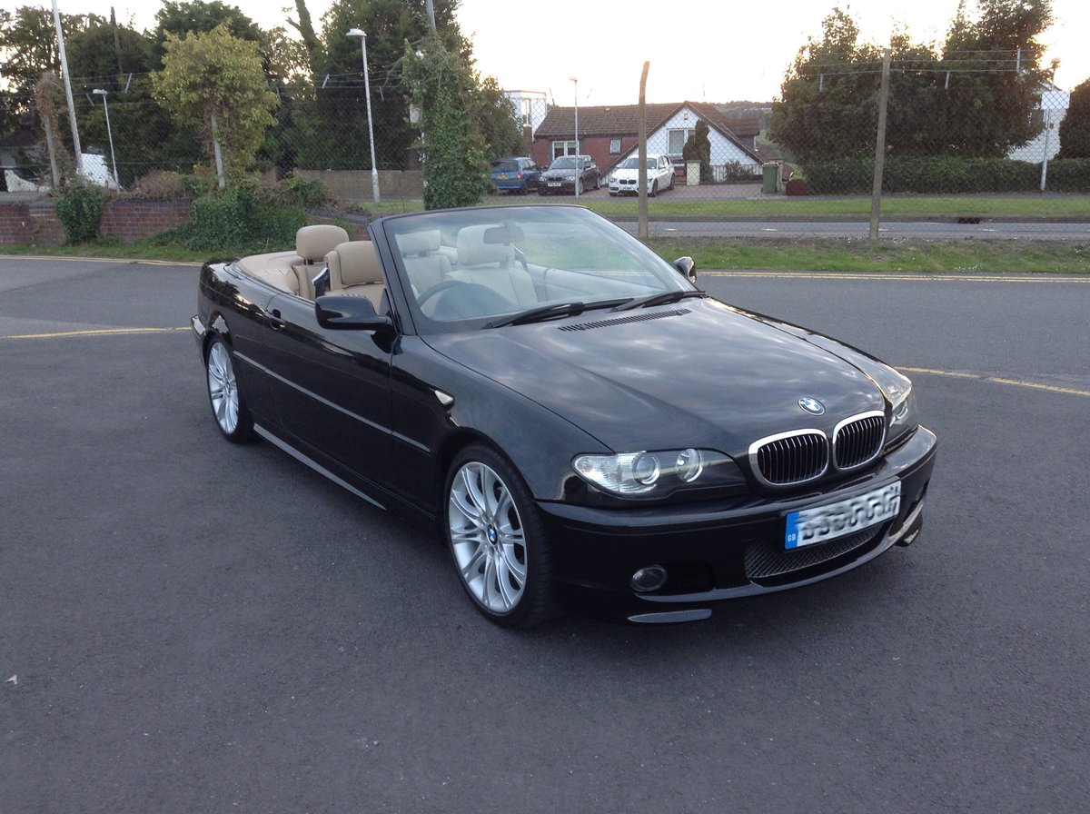 2005 BMW 3 Series Sport Cabriolet  58,000 genuine miles SOLD (picture 1 of 4)