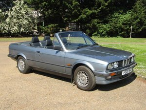 1988 BMW E30 325i Cabriolet Auto at ACA 15th June