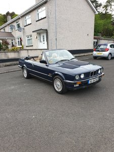 1990 Bmw e30 genuine 325i convertible