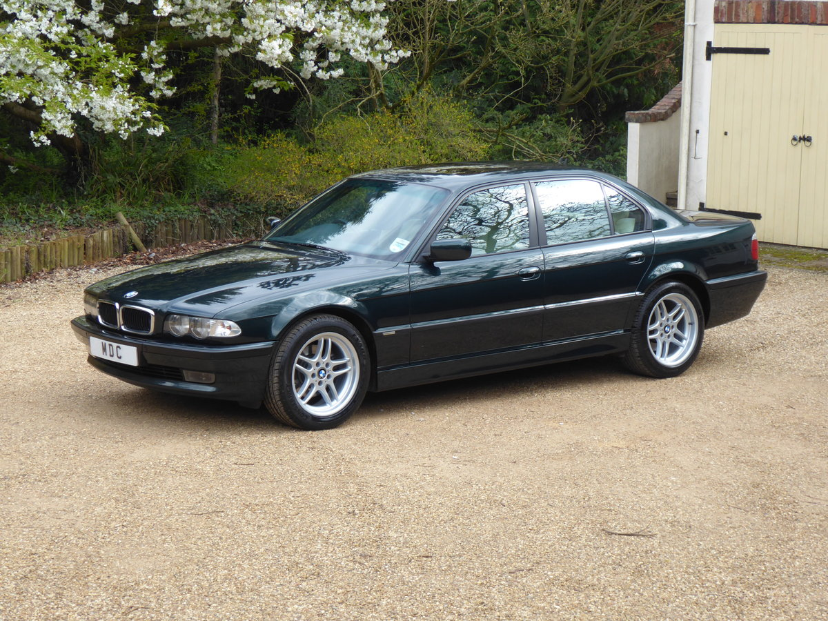 2001 BMW 728i M Sport Superb Full Service History Garaged Example SOLD (picture 1 of 6)
