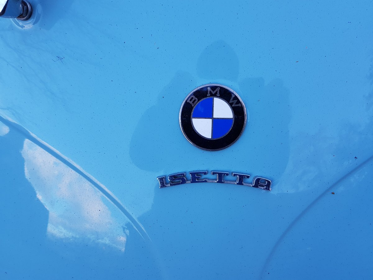 1959 BMW ISETTA FULLY REFURBISHED For Sale (picture 1 of 6)