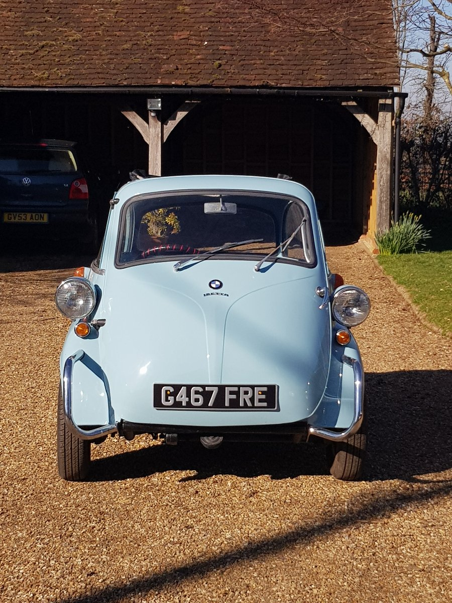1959 BMW ISETTA FULLY REFURBISHED For Sale (picture 4 of 6)