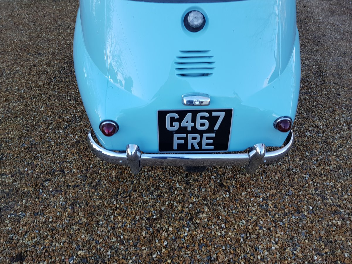 1959 BMW ISETTA FULLY REFURBISHED For Sale (picture 6 of 6)