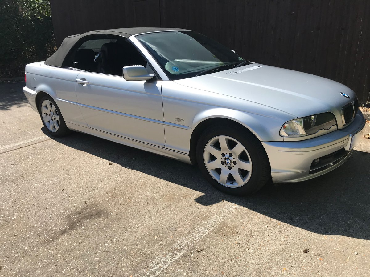 BMW 318ci Convertible 2002 For Sale (picture 1 of 6)
