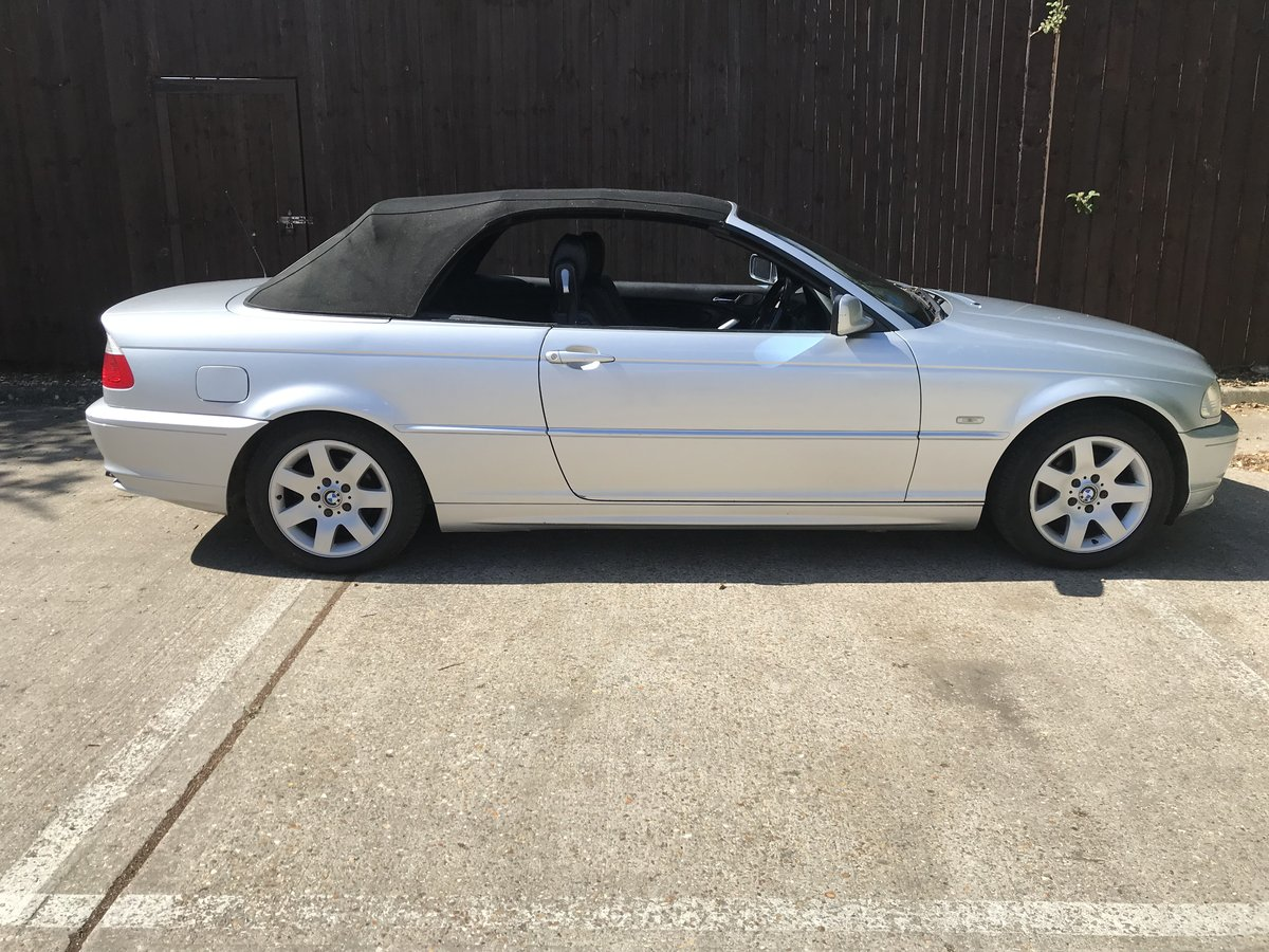 BMW 318ci Convertible 2002 For Sale (picture 2 of 6)