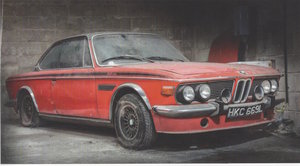 1972 3.0 CSL, RHD; Barnfind For Sale
