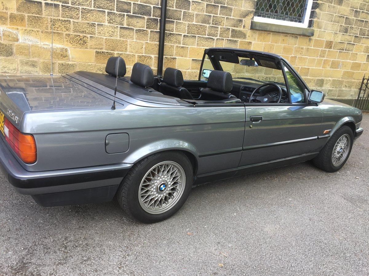 1992 K BMW E30 320I AUTO CABRIOLET GRANIT SILVER For Sale (picture 5 of 6)
