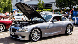 2006 BMW Z4M Coupe, Silver Grey, Immaculate Car