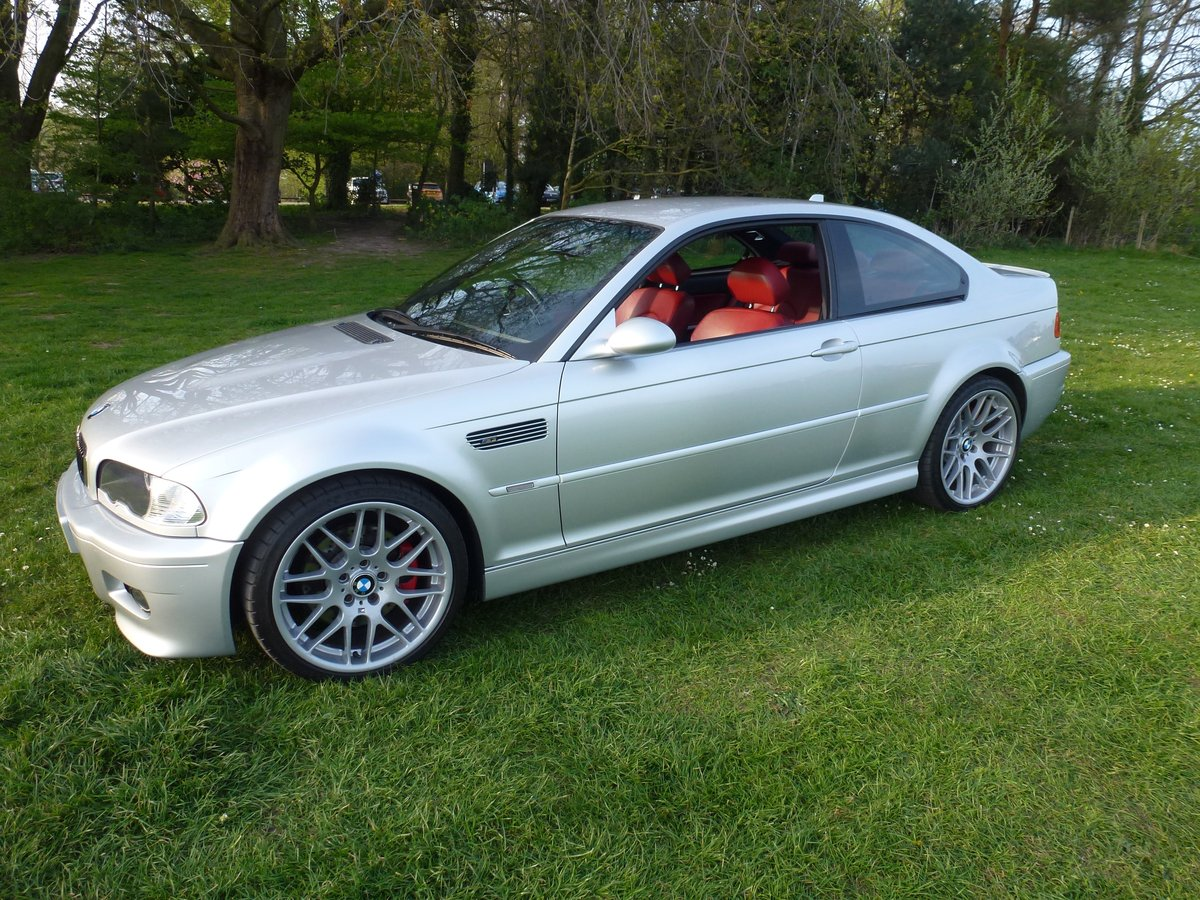 BMW M3 E46 coupe with SMG. 2003. Stunning car.     For Sale (picture 1 of 6)