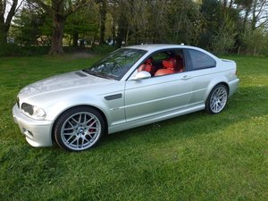 BMW M3 E46 coupe with SMG. 2003. Stunning car.