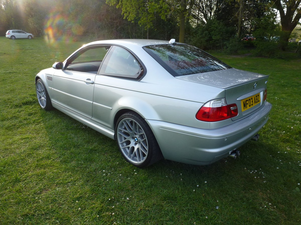 BMW M3 E46 coupe with SMG. 2003. Stunning car.     For Sale (picture 2 of 6)