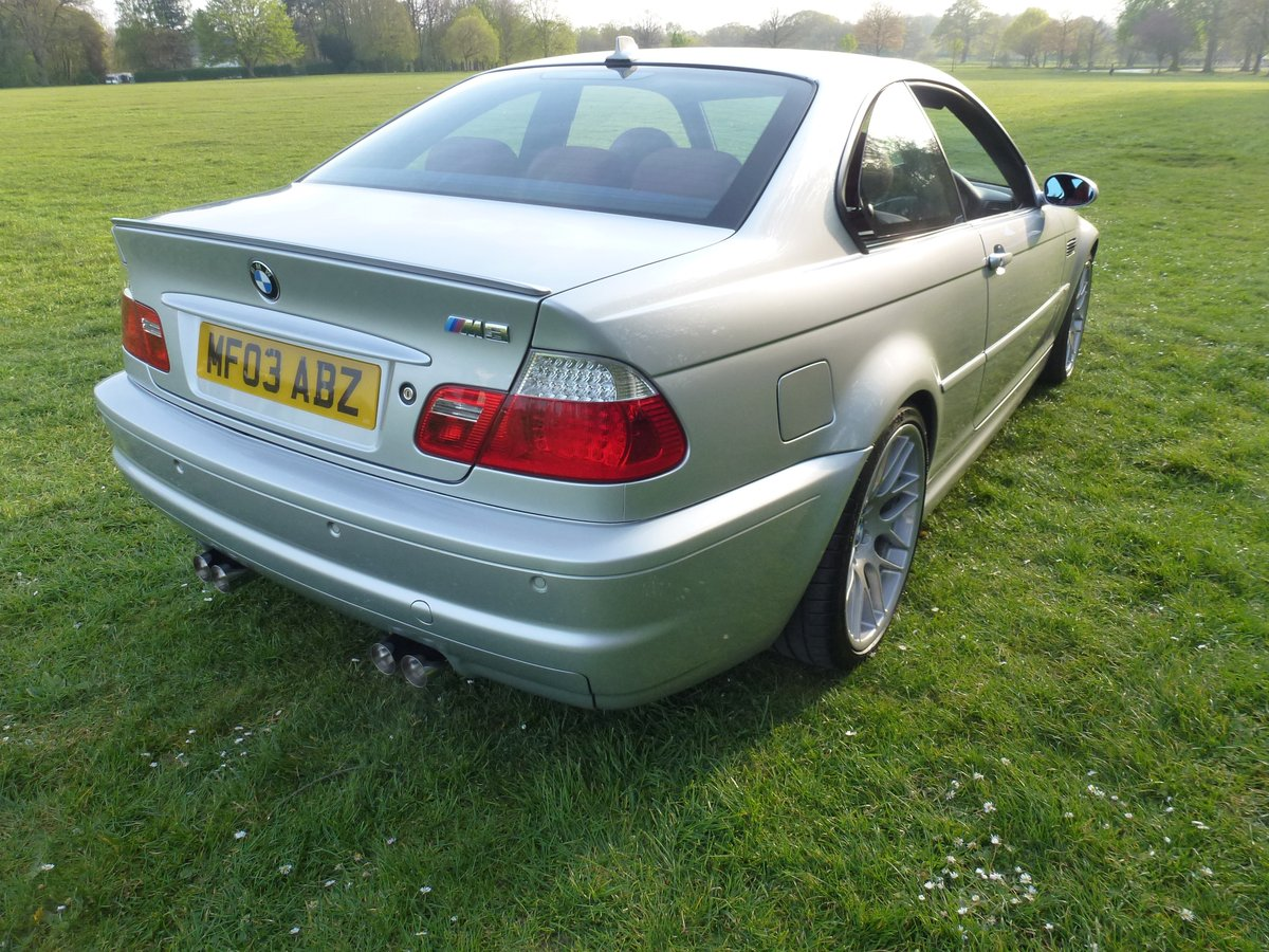 BMW M3 E46 coupe with SMG. 2003. Stunning car.     For Sale (picture 3 of 6)