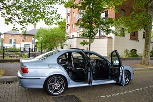 2000 BMW E39 M5 Silverstone Blue - 1 Owner - FSH For Sale