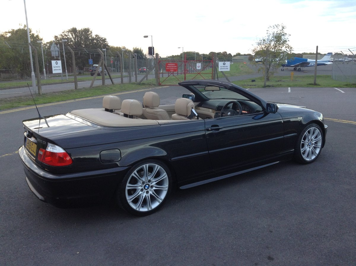 2005 BMW 3 Series Sport Cabriolet  58,000 genuine miles SOLD (picture 4 of 4)