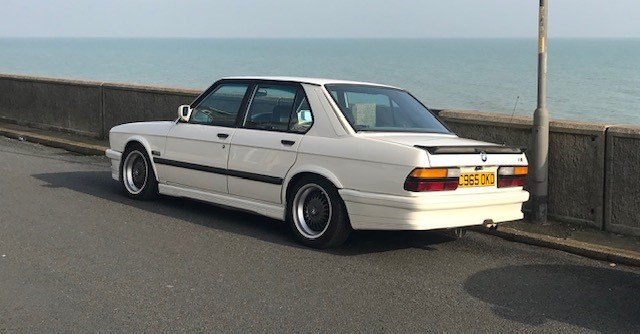 1985 BMW e28, White 1986 manual m535i SOLD (picture 6 of 6)