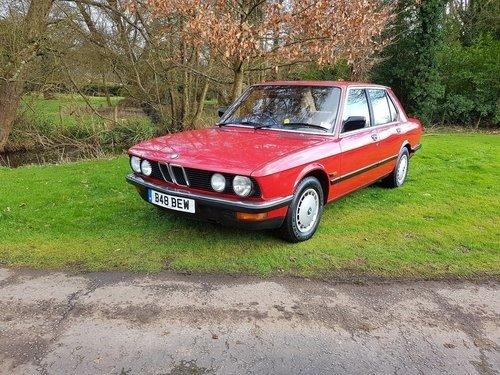 1985 xx CLASSIC CAR xx BMW E28 xx 525E 2.7 xx AUTO xx  For Sale (picture 1 of 6)
