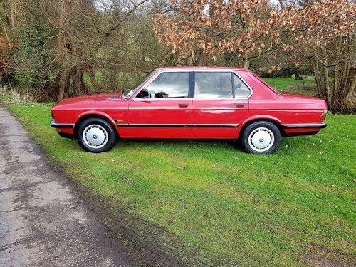 1985 xx CLASSIC CAR xx BMW E28 xx 525E 2.7 xx AUTO xx  For Sale (picture 2 of 6)