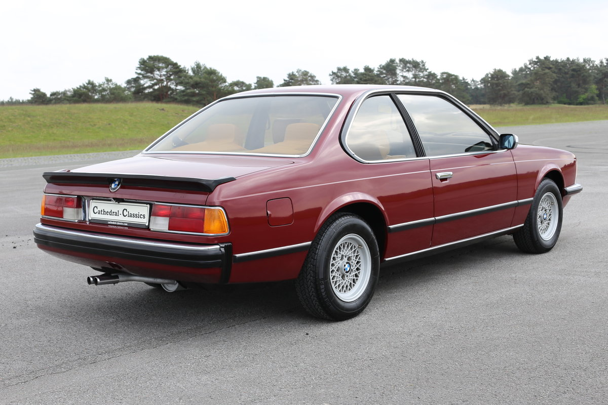 1980 An extremely original BMW 633 (E24) CSi Coupe For Sale (picture 1 of 6)