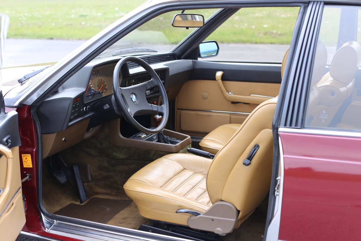 1980 An extremely original BMW 633 (E24) CSi Coupe For Sale (picture 2 of 6)