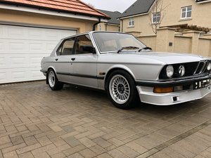 1986 E28 BMW 528i SE Manual For Sale