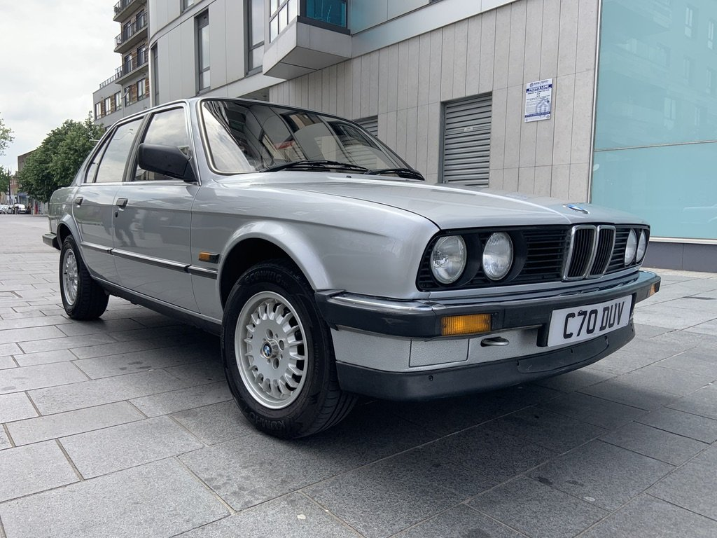 1986 BMW e30 320i 54k miles SOLD (picture 2 of 6)