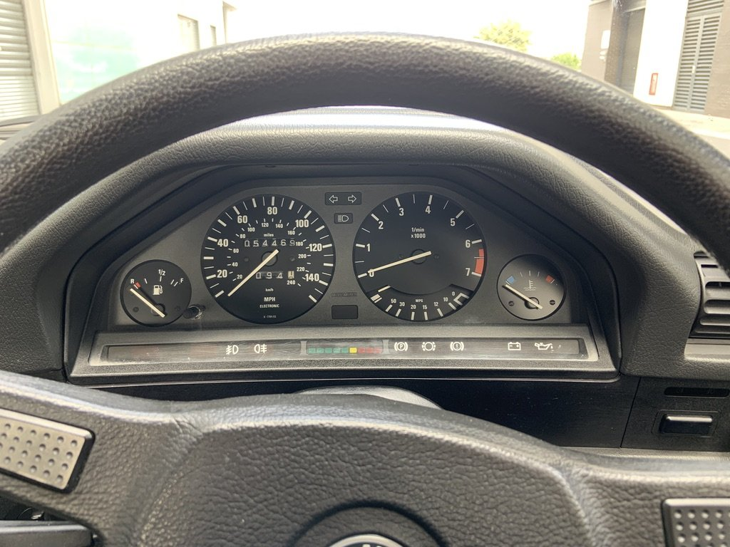1986 BMW e30 320i 54k miles SOLD (picture 6 of 6)
