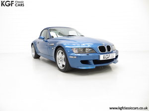1998 An Electrifying BMW Z3 M Roadster with 52,889 Miles From New SOLD