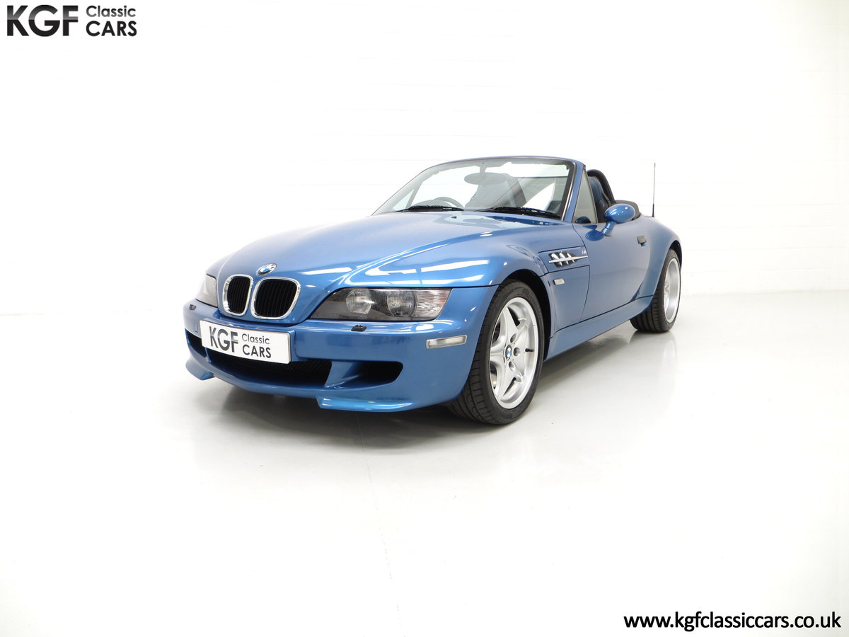 1998 An Electrifying BMW Z3 M Roadster with 52,889 Miles From New SOLD (picture 2 of 6)