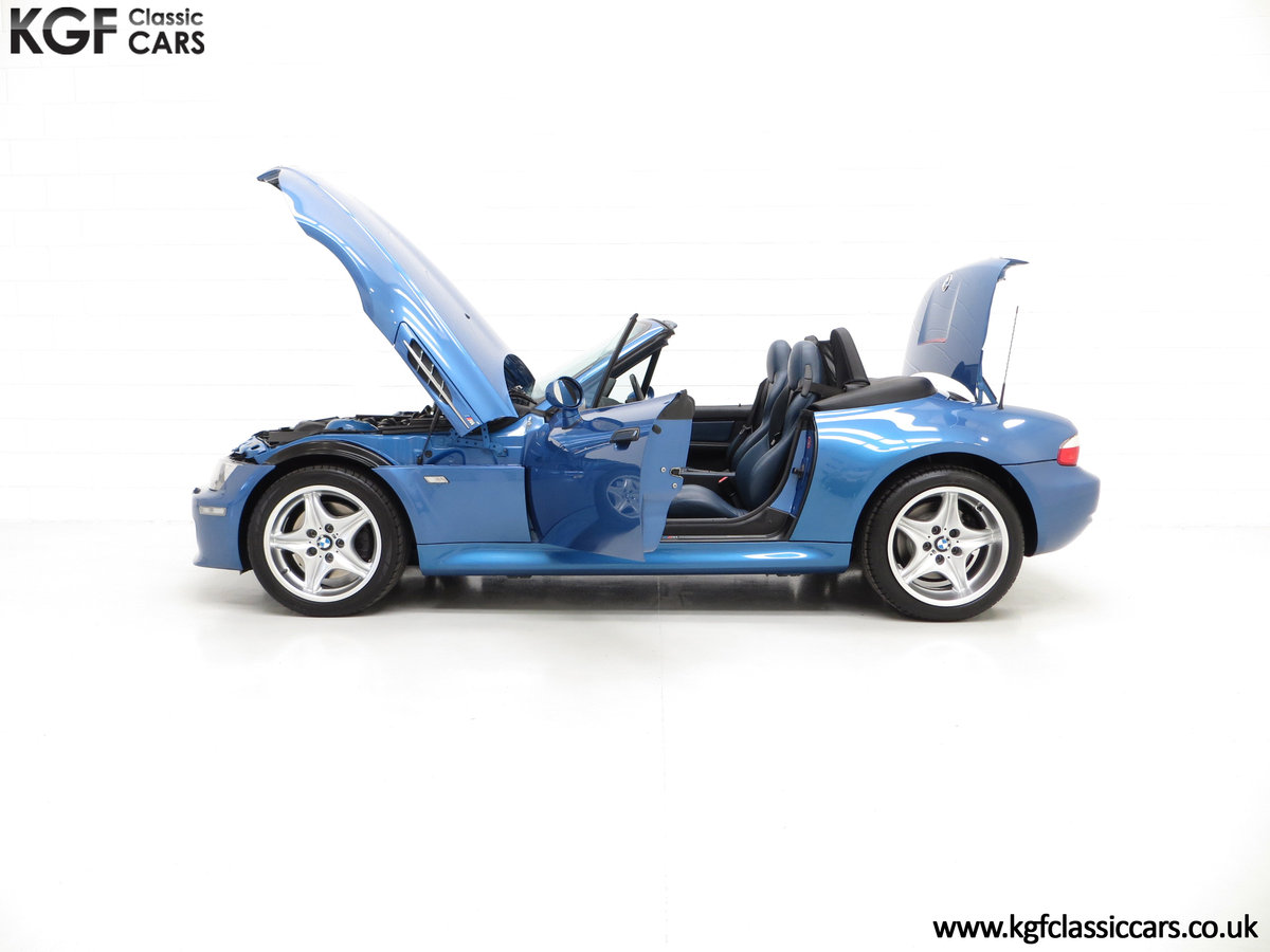 1998 An Electrifying BMW Z3 M Roadster with 52,889 Miles From New SOLD (picture 3 of 6)