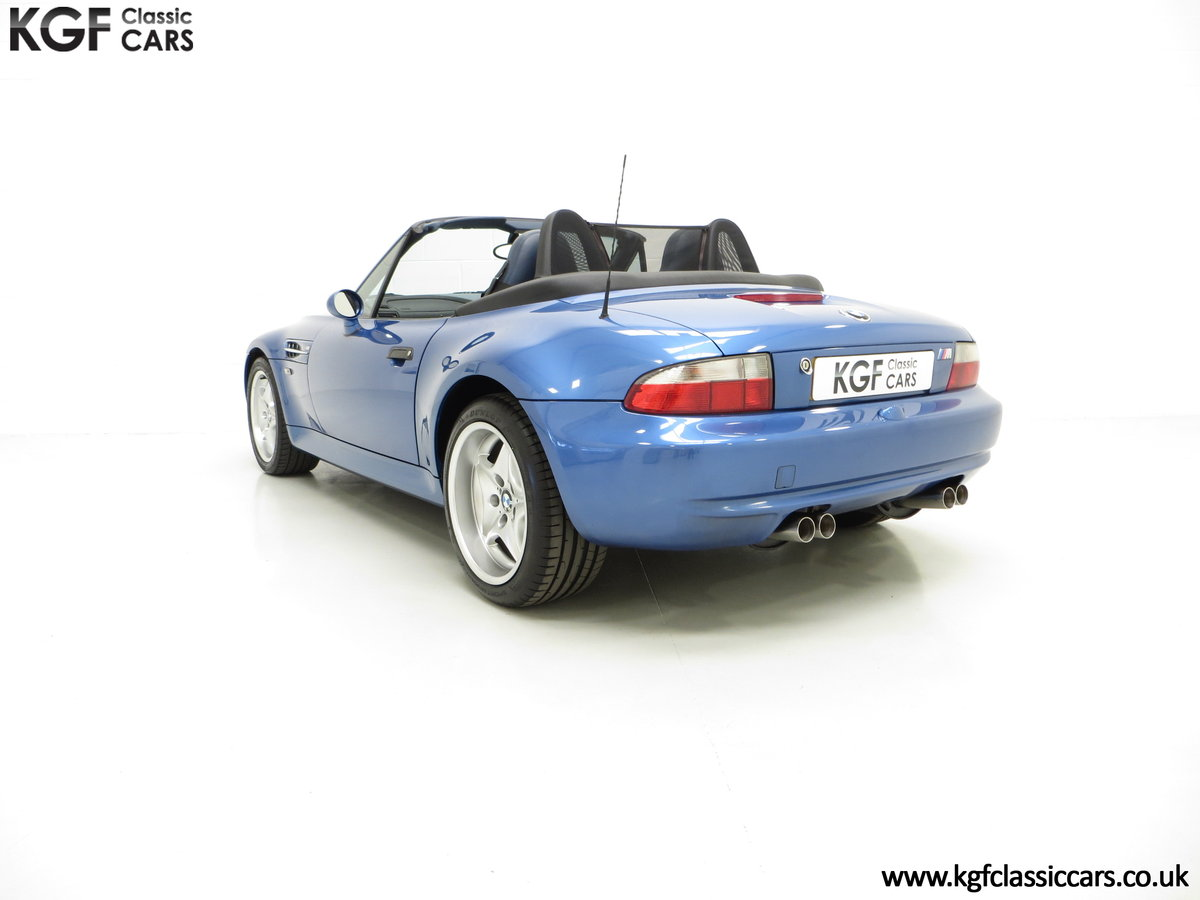 1998 An Electrifying BMW Z3 M Roadster with 52,889 Miles From New SOLD (picture 4 of 6)