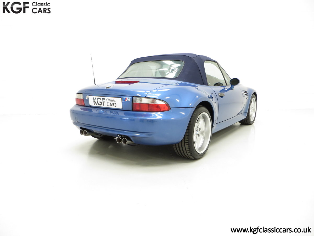 1998 An Electrifying BMW Z3 M Roadster with 52,889 Miles From New SOLD (picture 5 of 6)