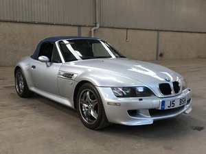 1999 BMW M Roadster at Morris Leslie Auction 25th May For Sale by Auction