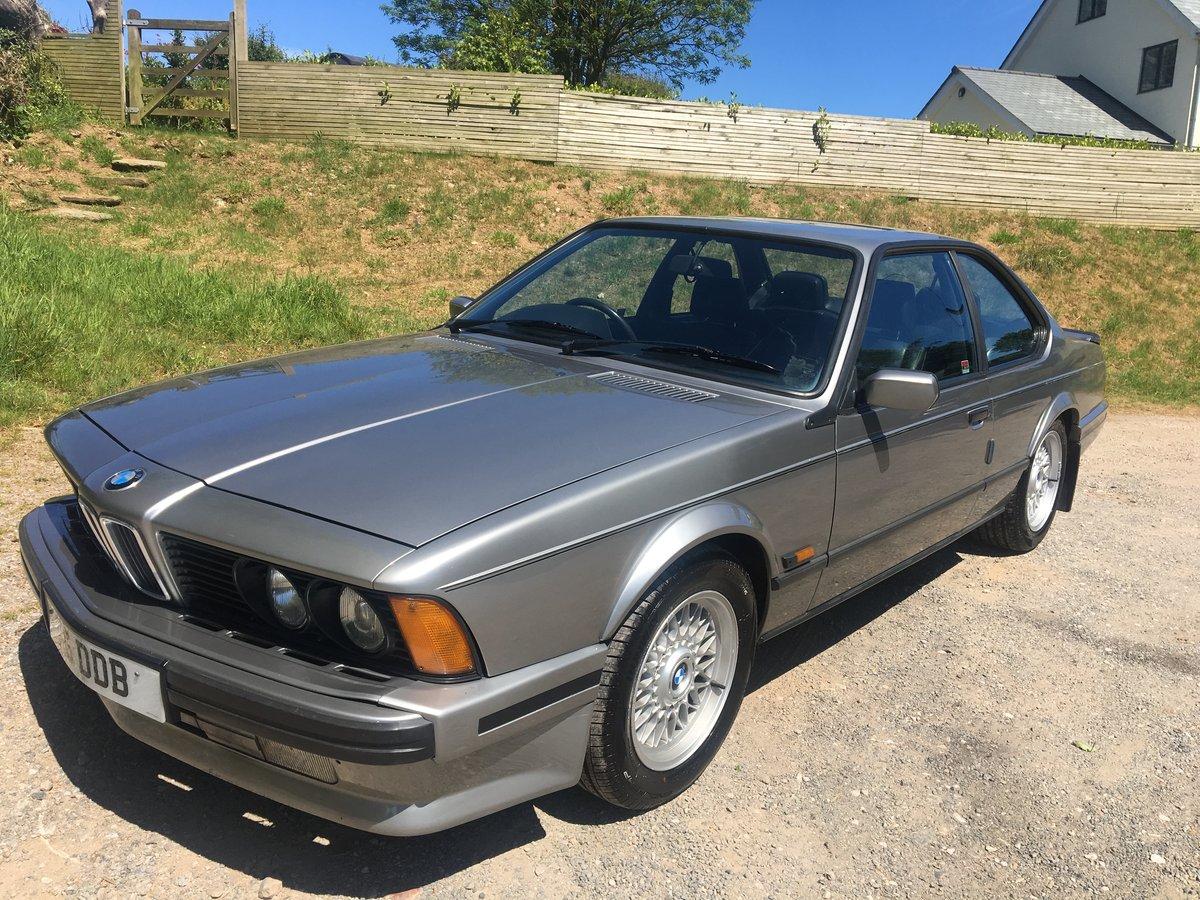 1990 BMW 635 csi auto For Sale (picture 1 of 6)