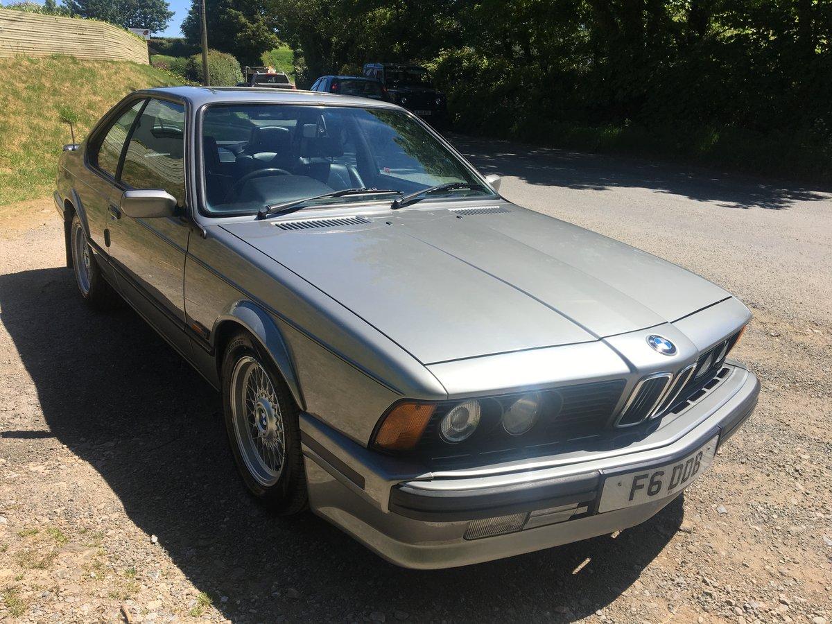 1990 BMW 635 csi auto For Sale (picture 2 of 6)