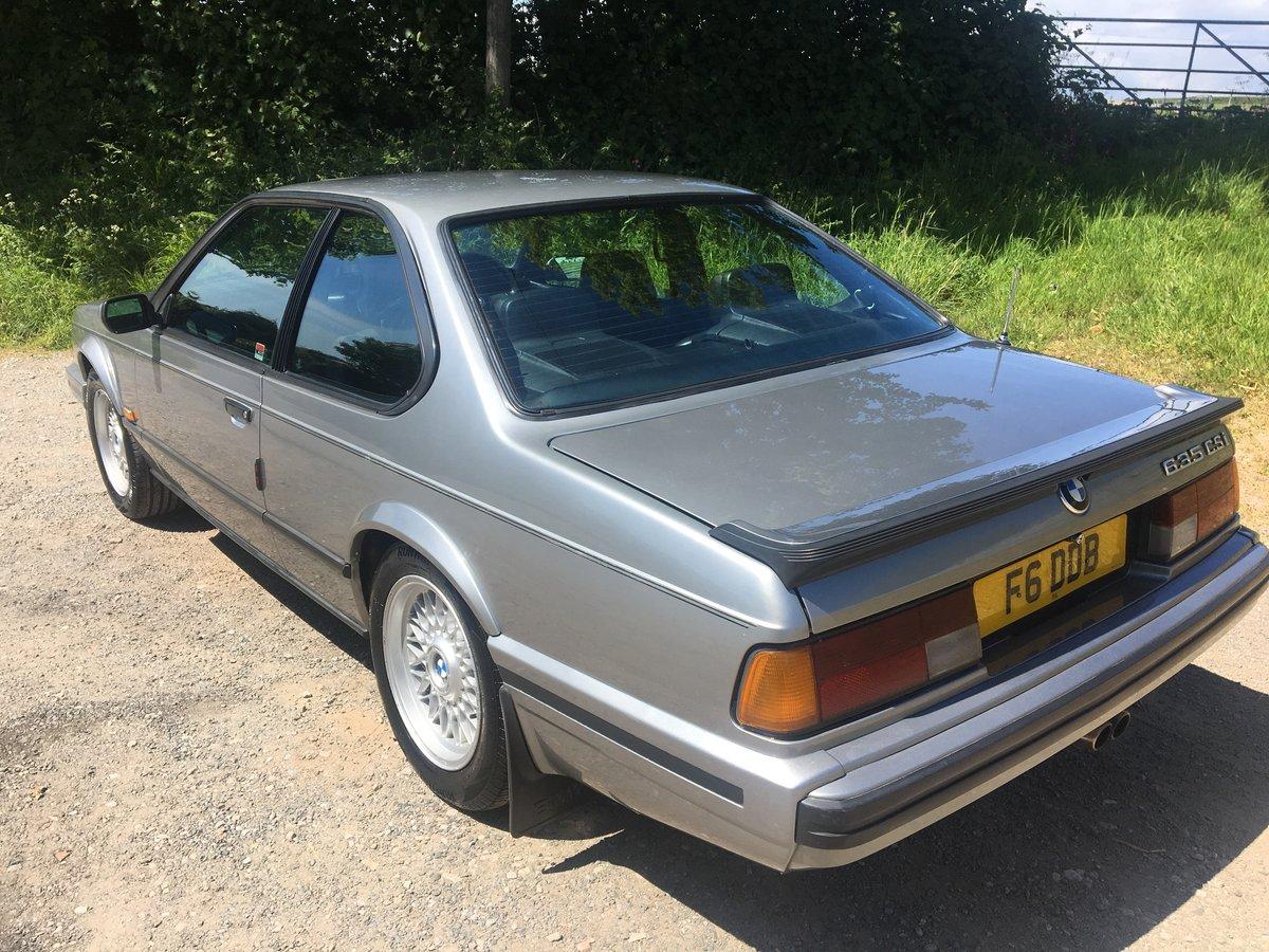 1990 BMW 635 csi auto For Sale (picture 4 of 6)