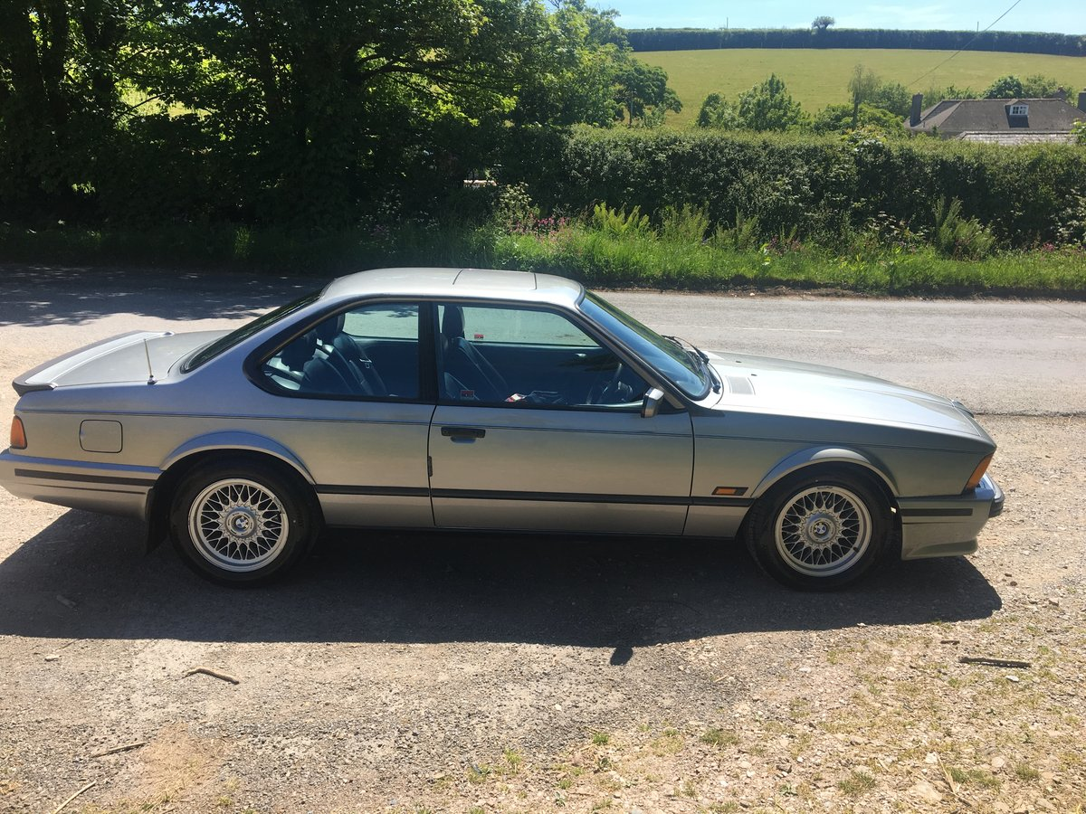 1990 BMW 635 csi auto For Sale (picture 5 of 6)