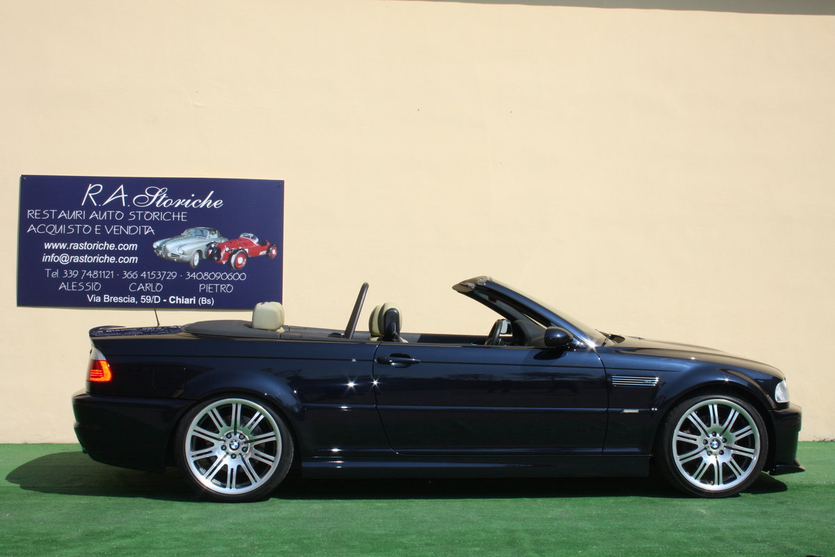 2002 BMW M3 E 46 CONVERTIBLE For Sale (picture 2 of 6)