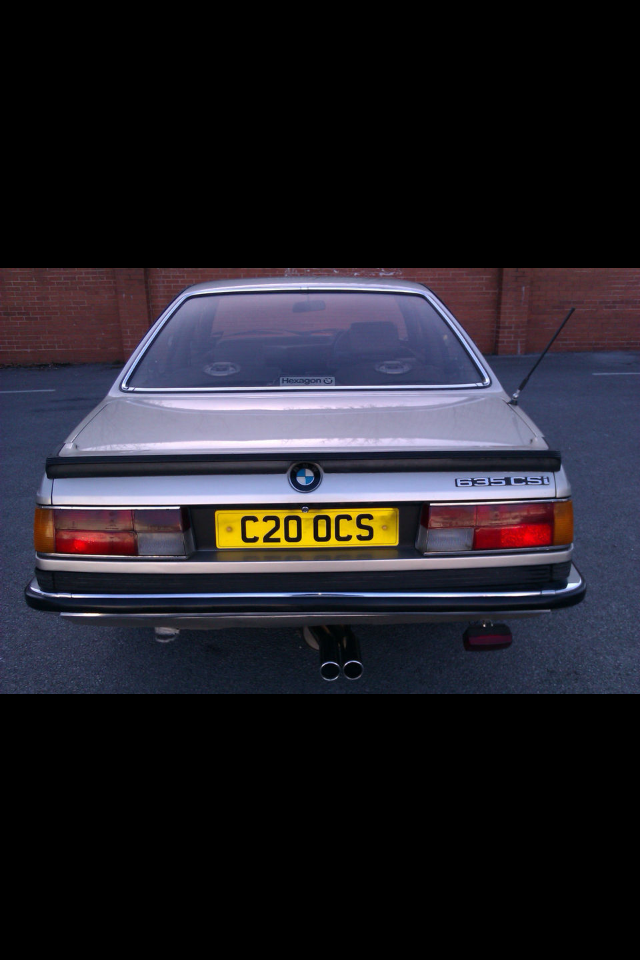 1984 BMW 635CSI For Sale (picture 2 of 6)