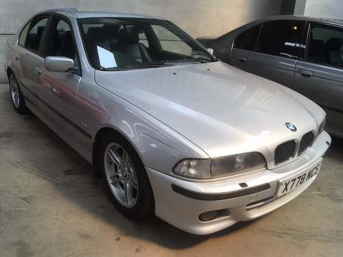 2000 BMW 528i Sport Auto at Morris Leslie Auction 17th August For Sale by Auction (picture 1 of 2)