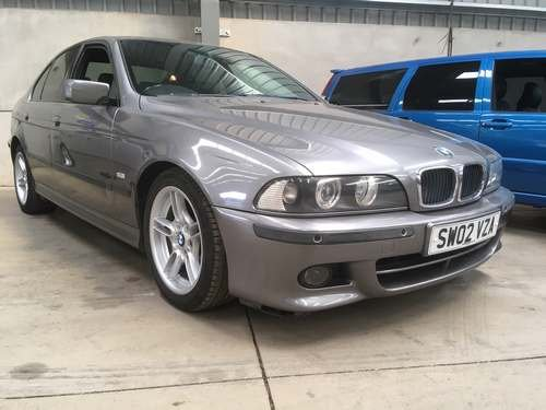 2002 BMW 525i Sport Auto at Morris Leslie Auction 17th August For Sale by Auction (picture 1 of 2)