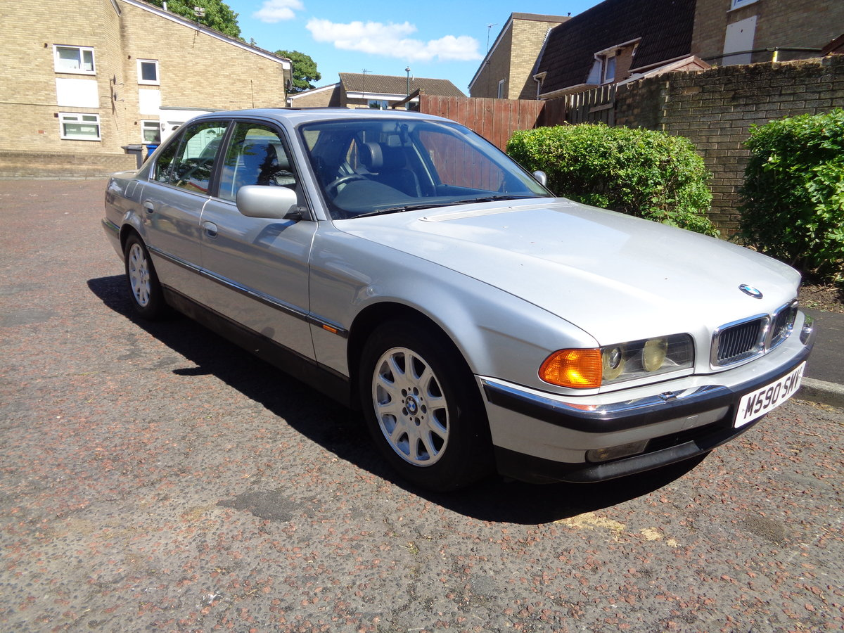 1995 BMW 7 Series E38 730i V8 Auto low mileage long MOT For Sale (picture 1 of 6)