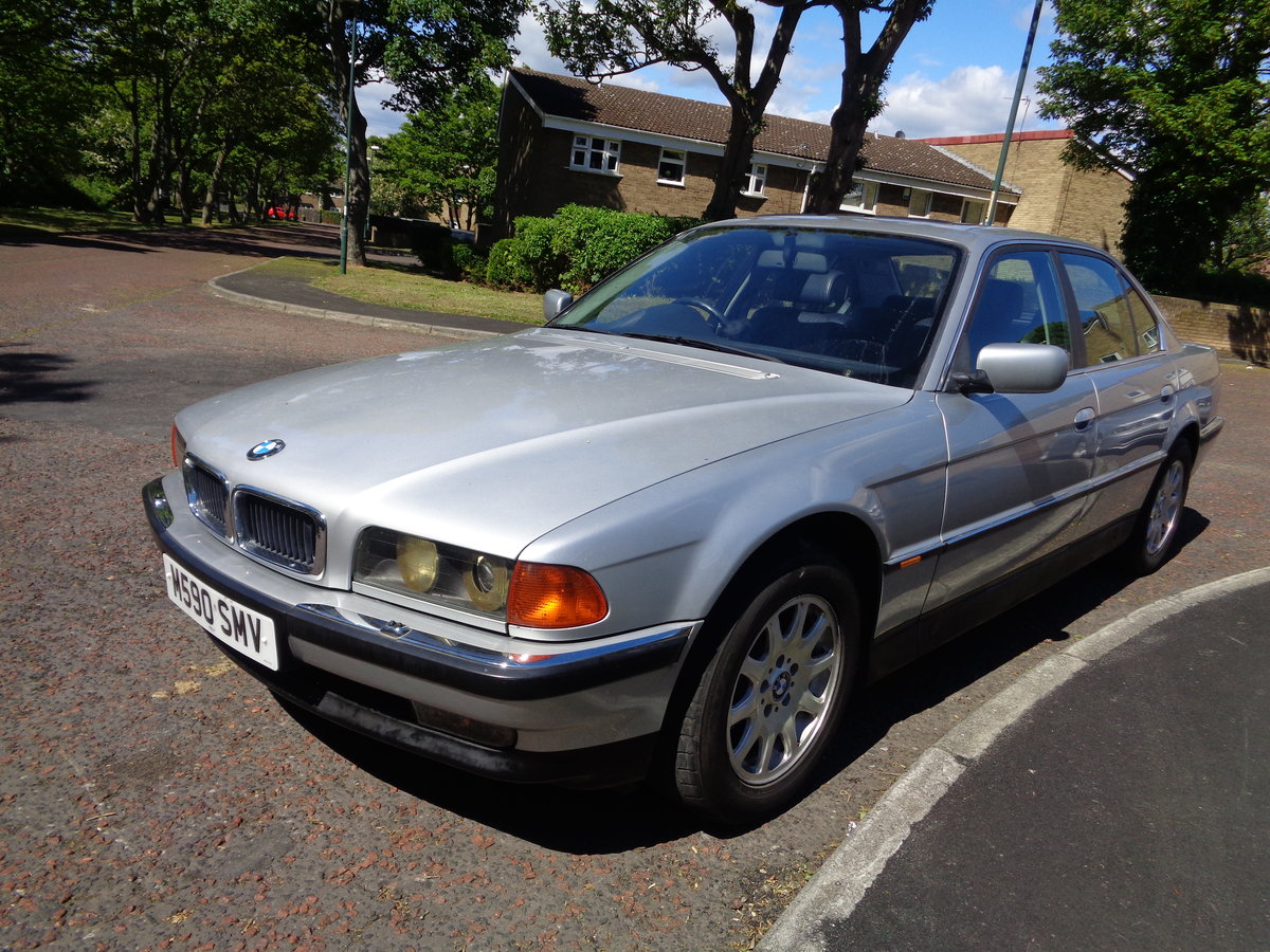 1995 BMW 7 Series E38 730i V8 Auto low mileage long MOT For Sale (picture 2 of 6)