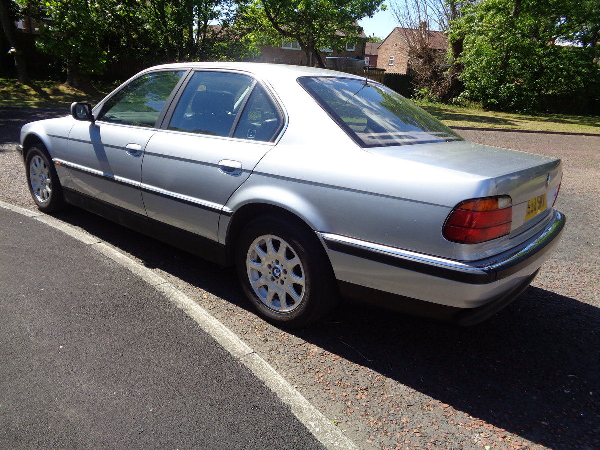 1995 BMW 7 Series E38 730i V8 Auto low mileage long MOT For Sale (picture 3 of 6)