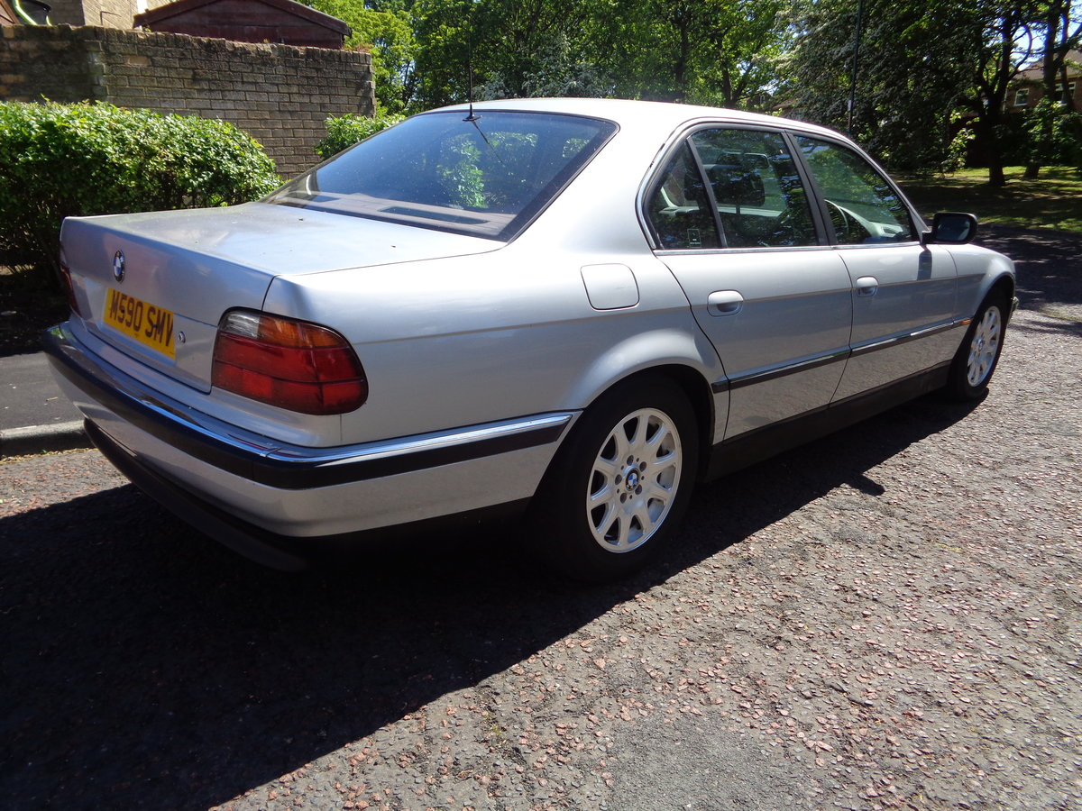 1995 BMW 7 Series E38 730i V8 Auto low mileage long MOT For Sale (picture 4 of 6)