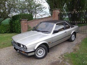 1987 BMW 320I BAUR SOLD