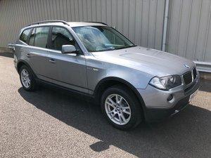 2008 08 BMW X3 2.0 D SE 177 BHP MANUAL